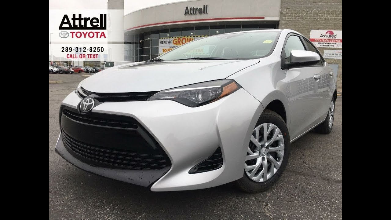 2019 Toyota Corolla Le Review Brampton On Attrell Toyota Youtube