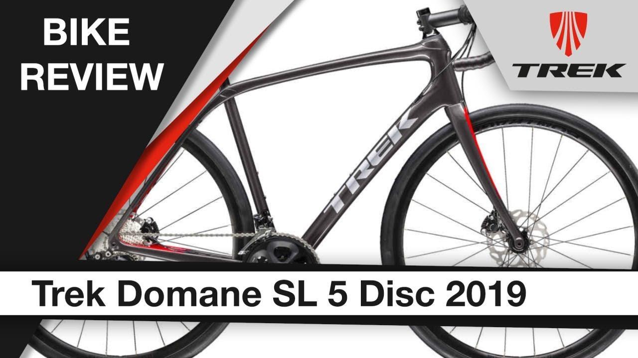 Trek Domane SL 5 Disc 2019: Bike review