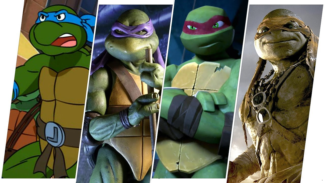 Download TMNT Evolution in Movies and TV.