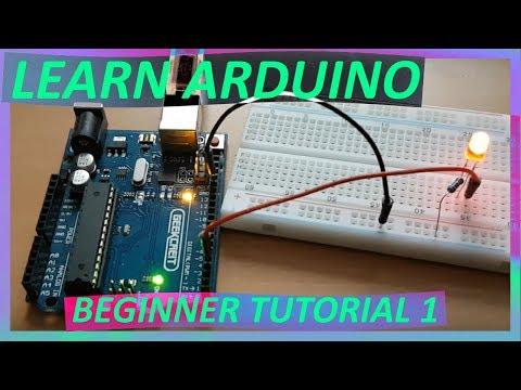 Arduino Uno Tutorial For Beginners Part 1 LED Blink 2019 / Basic Starter Learning Kit