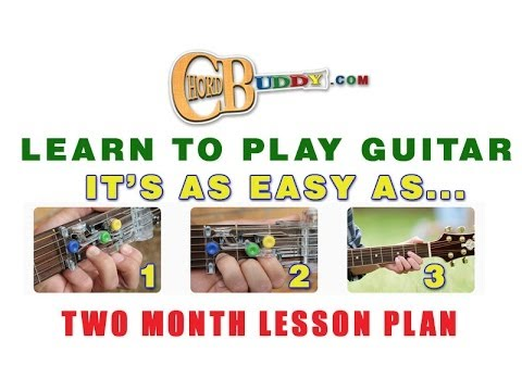 Learn To Play The Guitar Fast & Easily With ChordBuddy Instructional Lesson Plan