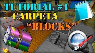 Como hacer un texture pack Minecraft 1.9/Tutorial #1