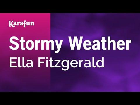 Karaoke Stormy Weather  Ella Fitzgerald *