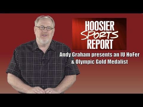 Andy Graham presents an IU Hall of Famer & Olympic Gold Medalist