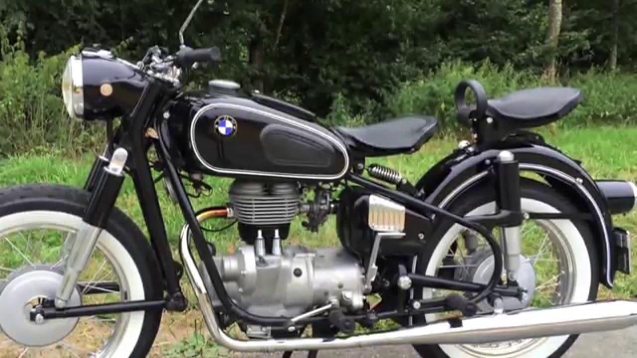 BMW R27, 1965, 250ccm, moto bike veteran, oldtimer, after restoration,  classic 50 years