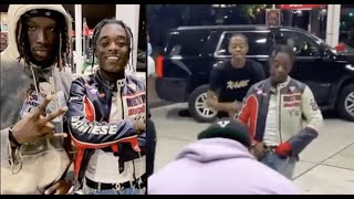 Lil Uzi Vert Jumps In Random Music Video With Fan At Gas Station