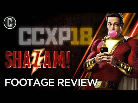 Shazam! Exclusive Footage Review
