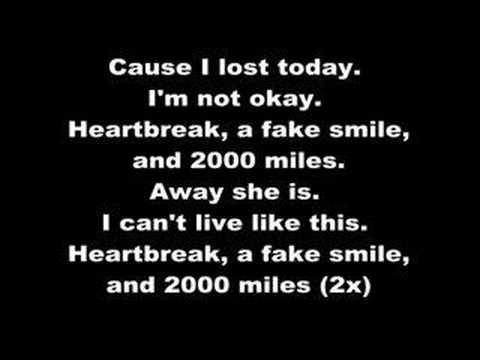 Mest - 2000 miles (lyrics)