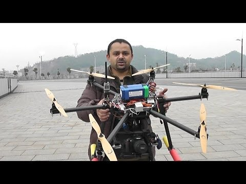 OFM Hunter H700Pro Hexacopter for Professional Aerial Filming