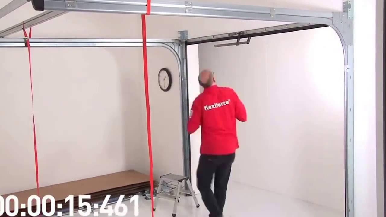 Harmonie garasjeport montering