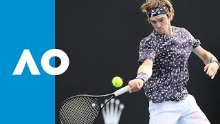 David Goffin vs Andrey Rublev - Match Highlights (R3) | Australian Open 2020
