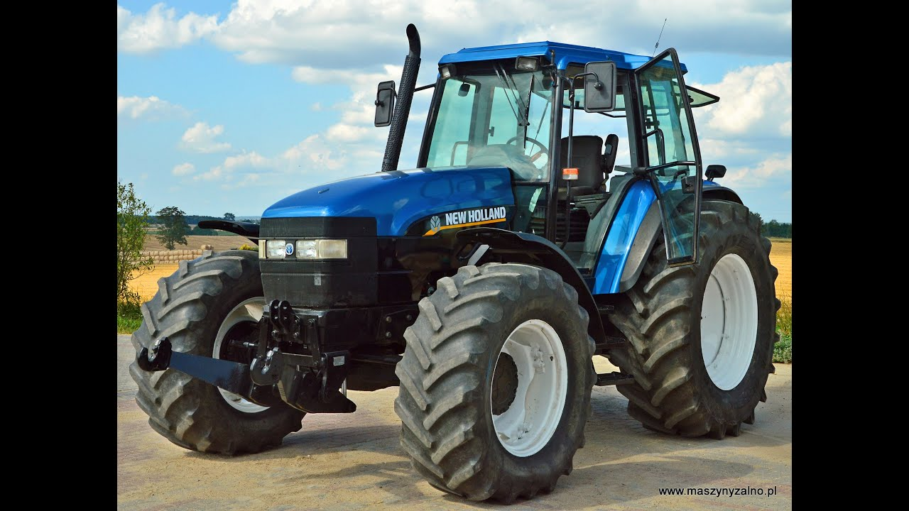 Traktor New Holland Dt