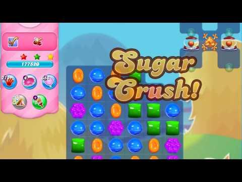 Candy Crush Saga Level 3207 (3 stars, No boosters)