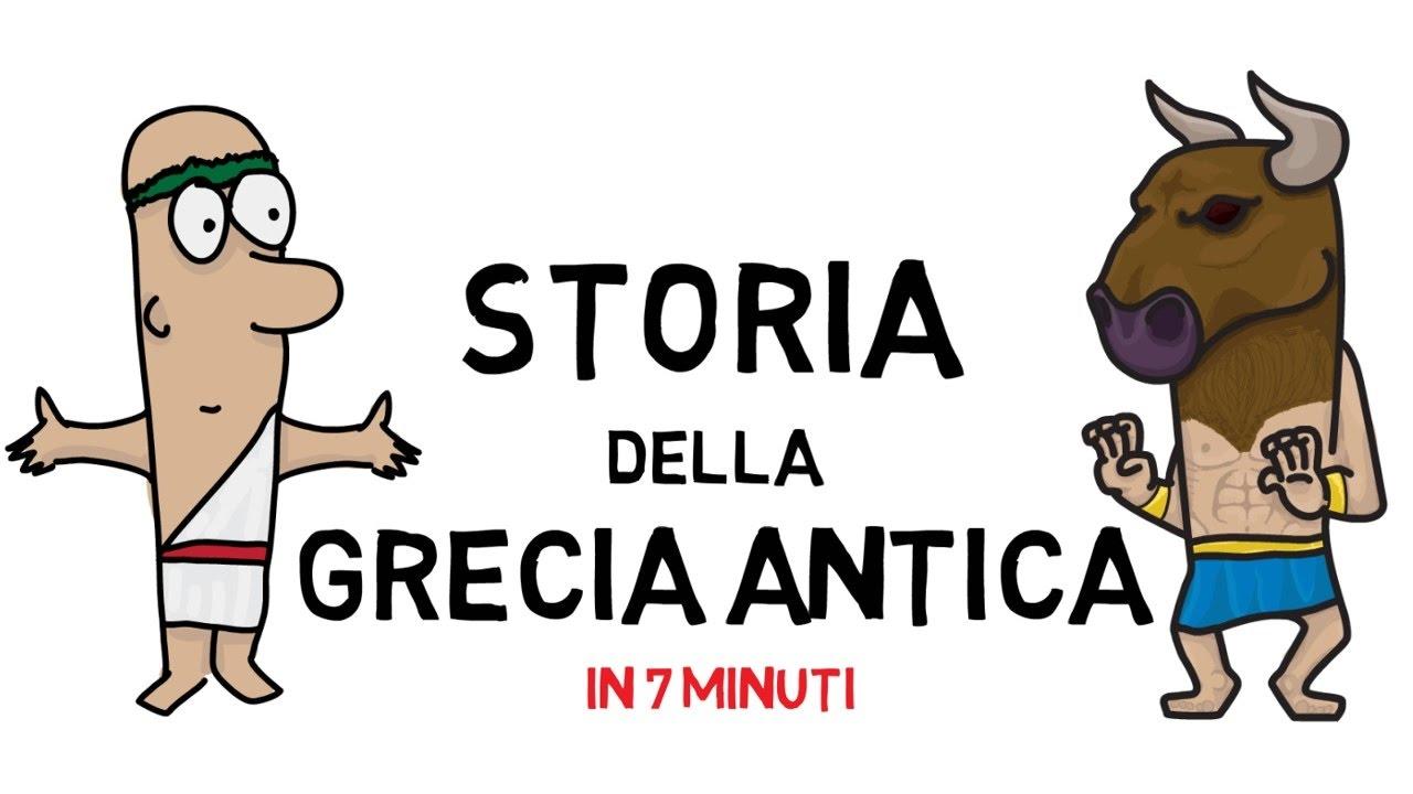 Storia Della Grecia Antica In 7 Minuti Animated History Youtube