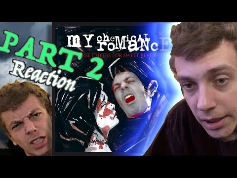 First Reaction to My Chemical Romance - Three Cheers For Sweet Revenge Part 2 (& review)