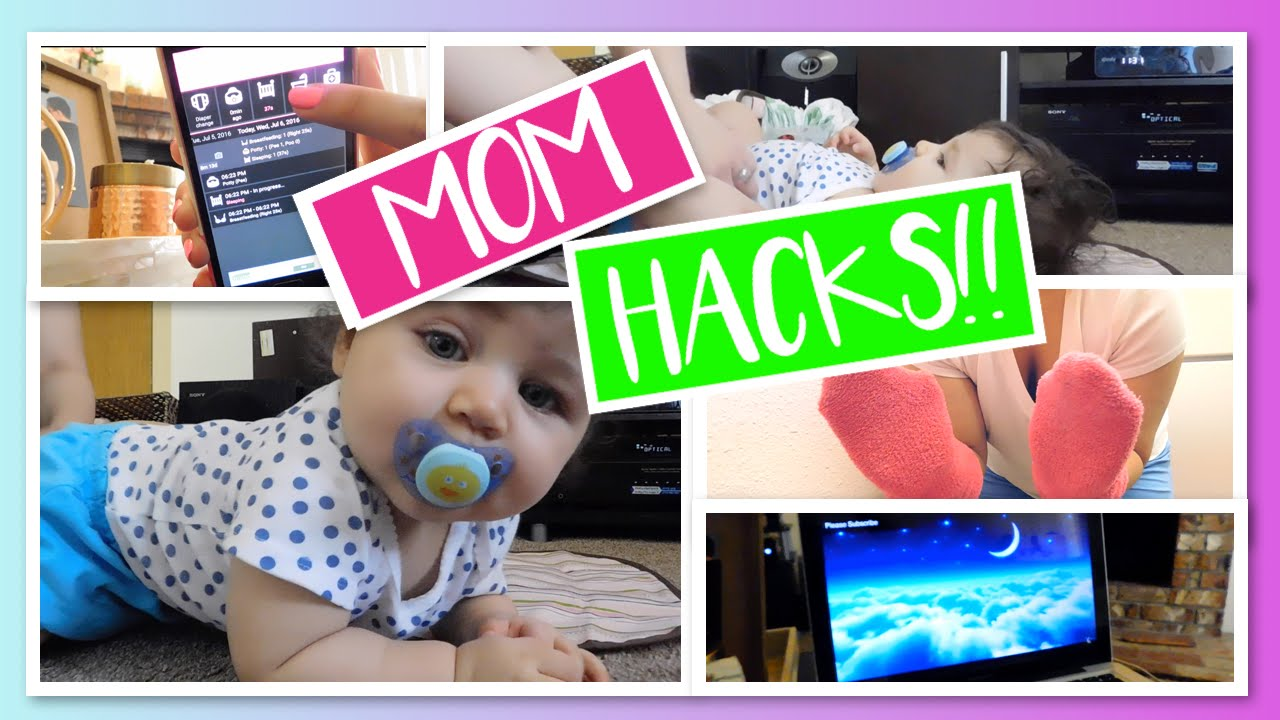 Life Hacks For Moms Life Hacks For New Moms Diy Tips Tricks For Newborns