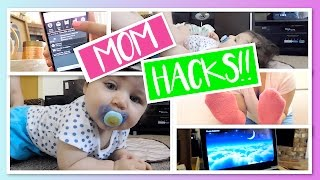 LIFE HACKS FOR NEW MOMS!! DIY + TIPS & TRICKS FOR NEWBORNS!   Katie Dunn