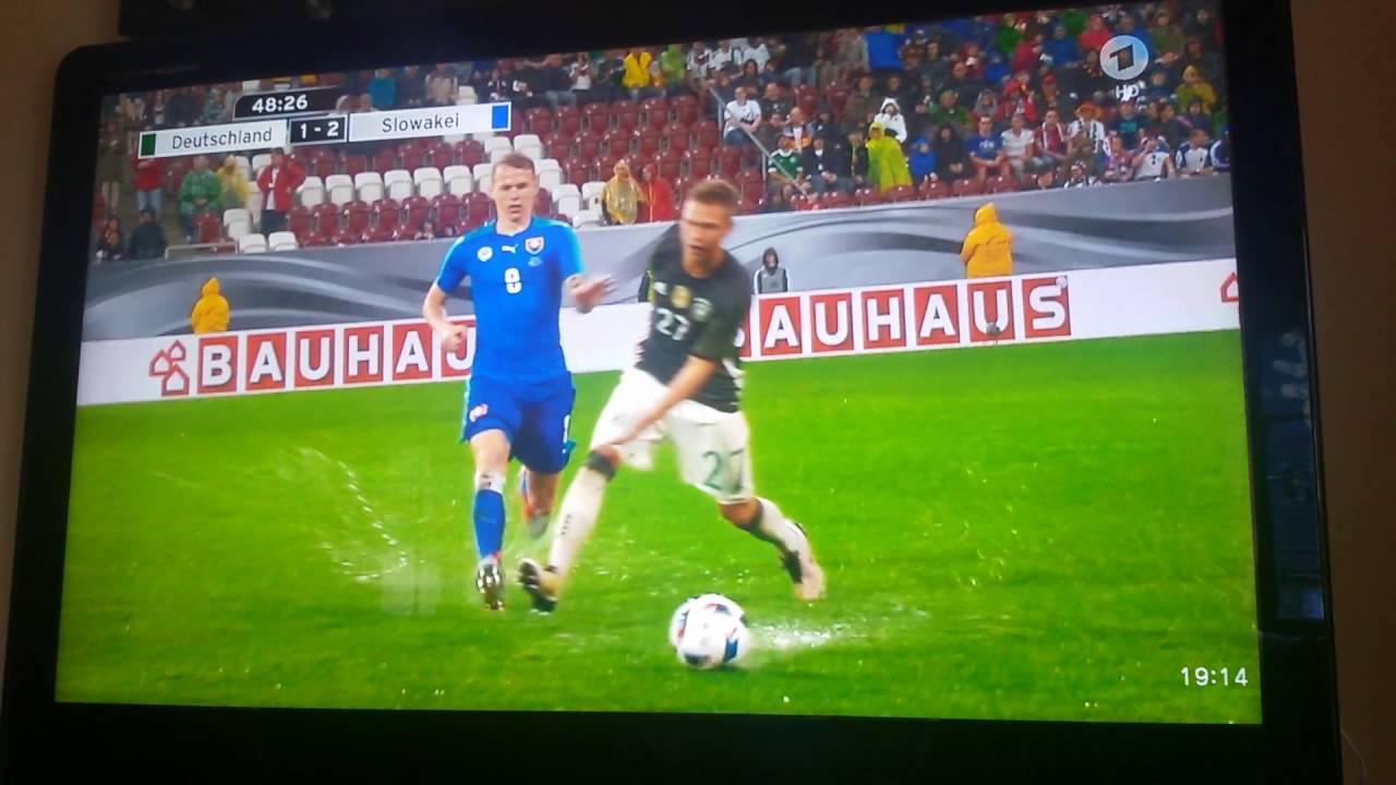 Deutschland Slowakei Freundschaftsspiel