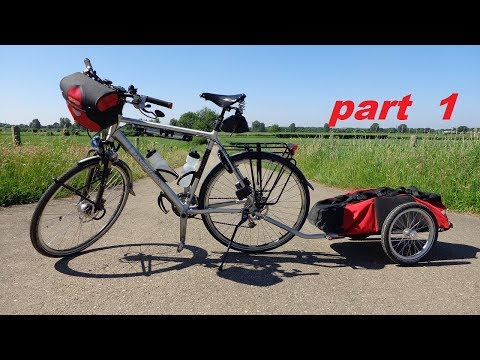 Bicycle Touring  2017  The Netherlands and Germany  ( part 1 )
