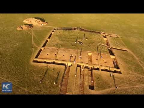 Discover the ancient city site of Xiongnu