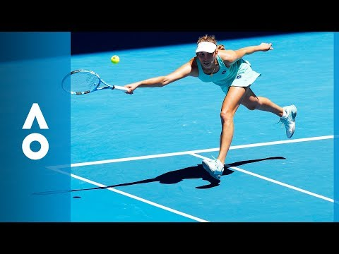 Elise Mertens v Elina Svitolina match highlights (QF)   Australian Open 2018