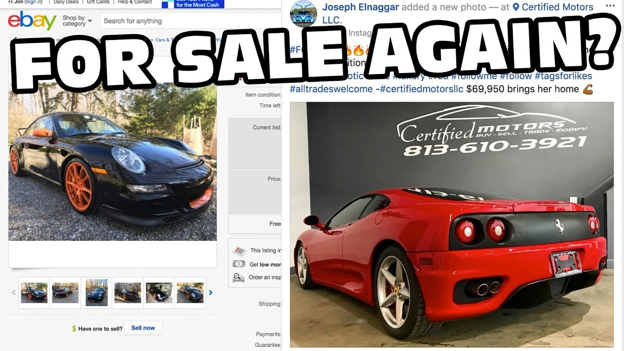 My Cars Are For Sale Again! - YouTube