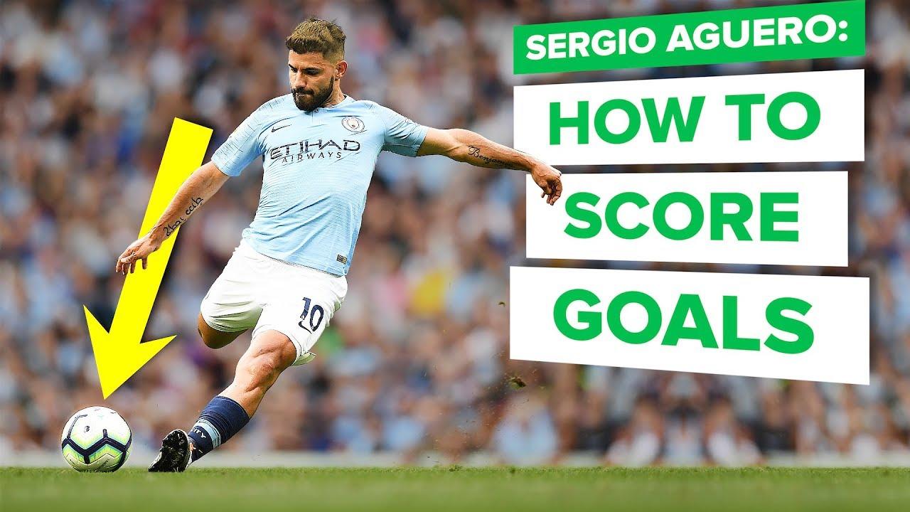 HOW TO SCORE MORE GOALS   Sergio Aguero pro tips