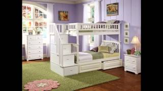 White Bunk Beds With Stairs By Camacoeshn.org