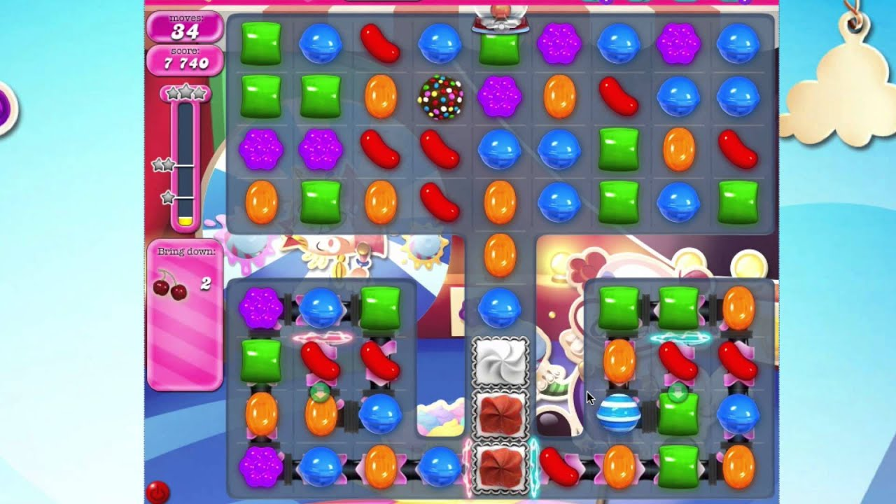 how to pass level 1374 on candy crush