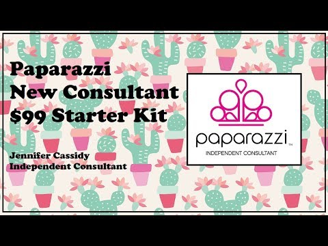 Paparazzi New Consultant $99 Starter Kit - What's Inside? - $5 Jewelry
