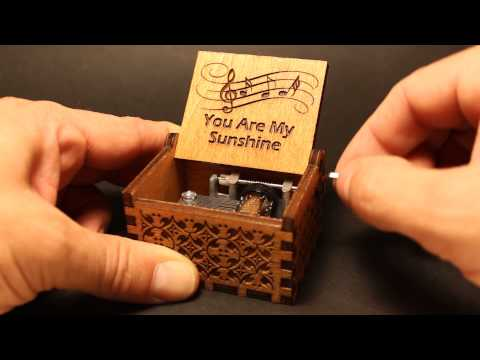 You Are My Sunshine Music Box (Invenio Crafts)