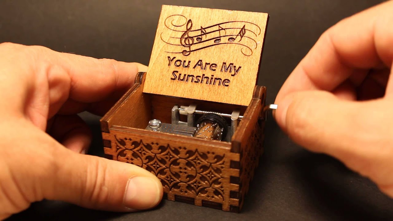 You Are My Sunshine Music Box Invenio Crafts YouTube