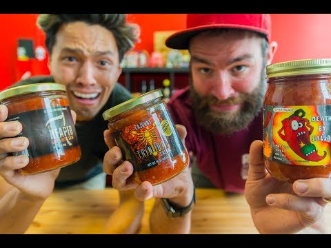 CAROLINA REAPER SALSA?!?! | Capsaicin Extract Sucks!