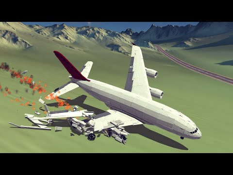 Failed Emergency Landings #13. Feat. Large Airplanes Only | Besiege