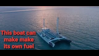 Energy Observer : The boat that make its own fuel .