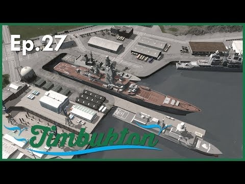 [Ep.27] Cities Skylines : Timbukton Region - Port of Timbukton (Part 3)