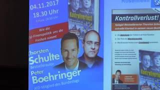 Bayerische AfD-Abgeordnete berichten aus dem Bundestag Peter Boehringer (Okt. 2017) Teil 1
