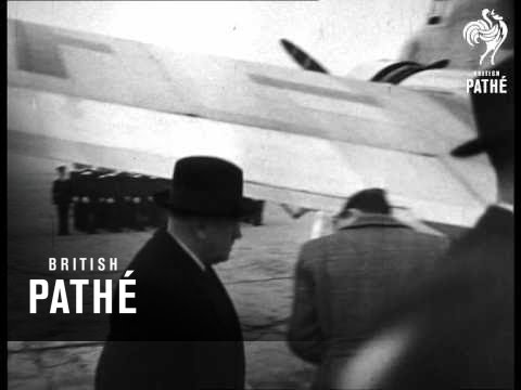 Deladier Leaves For Munich Conference Aka Daladier 1938 Youtube