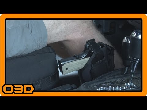 Installing a Holster in my Jeep Wrangler JK Unlimited - Condition Zero - Team Tech Offroad