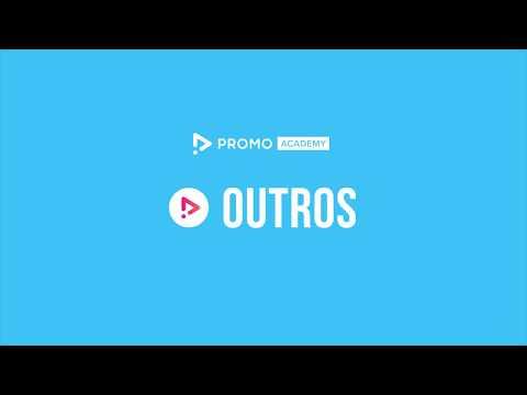 Promo.com Academy - Applying your video outro | Online video maker
