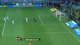 Gol de Calleri.Godoy Cruz 2 Boca 3.Fecha 12.Torneo Primera División 2014.Fútbol Para Todos