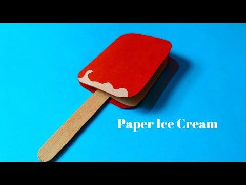 How To Make Paper Ice Cream   DIY Ice Cream For Kids   Summer Crafts   InnoVatioNizer