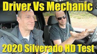 2020 Silverado 2500 HD - Under the Hood and Behind the Wheel