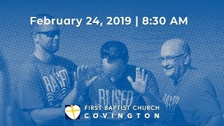 February 24, 2019 | 8:30 AM | Full Service Archive