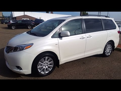 2016 toyota sienna limited fwd or awd detailed review a. Black Bedroom Furniture Sets. Home Design Ideas