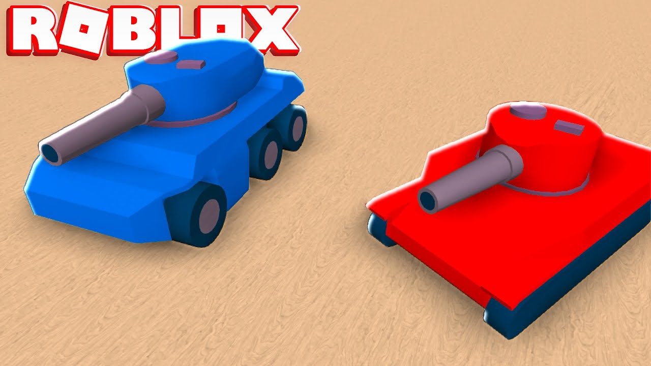 We Took Tiny Tanks To War In Roblox | JeromeASF