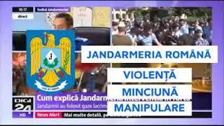 SEFII JANDARMERIEI ROMANE NE MINT LA TELEVIZOR!!