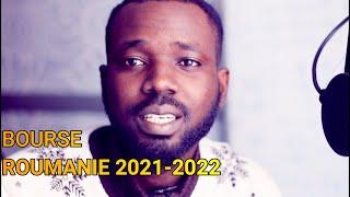 BOURSE ROUMANIE 2021-2022 ( DOSSIERS A FOUNIR)