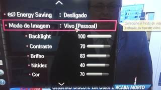 TV 4K 3D LG UB8300 SMART TV, VIDEO 3,configurar tv aberta.