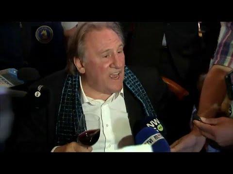 Gérard Depardieu s'emporte